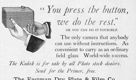 The First 'Kodak Moment' – The invention of the Camera